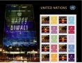 Diwali stamps released by UN stamps