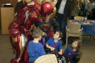 Superheroes celebrate as Texas boy recovers miraculously