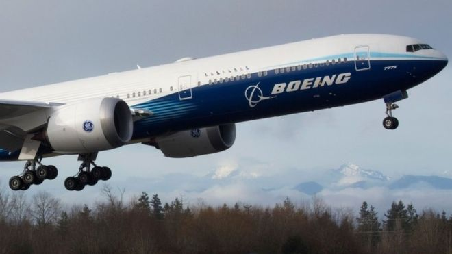 After Weather Delay, Largest Jet Takes to Sky