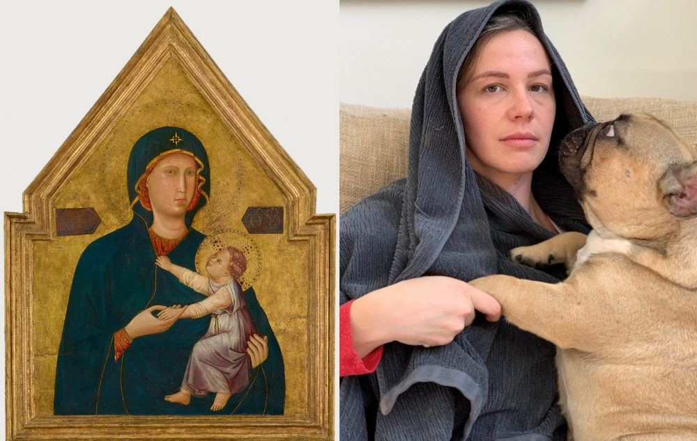 Netizens recreate classic artworks and the results are hilarious