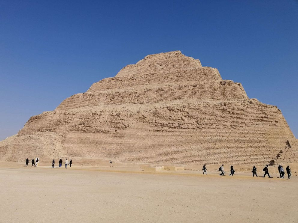Egypt Reopens Its Oldest Pyramid After 14 Years