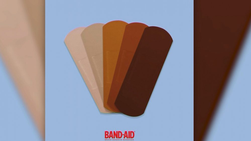 Band-Aid launching bandages in ranging skin tones to promote inclusivity