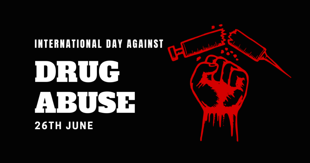 26Th June Is International Day Against Drug Abuse And Illicit Trafficking -  Newsum